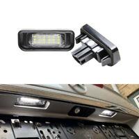 For Mercedes Benz W220 S430 S500 S600 Led License Plate Lamp Lights White 12V