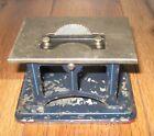 Antique Doll DC Steam Engine Table Saw Accessory German Tin Bing Marklin Krauss