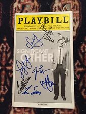 Significant Other Cast Signed off Broadway Playbill
