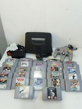 Nintendo 64 N64 Console + Game Bundle 27 games fully working tested