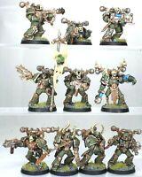 40K Warhammer Nurgle Death Guard Chaos Plague Marines Skeletons Conversions