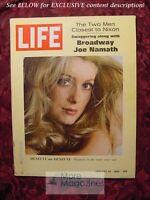 LIFE January 24 1969 Jan 1/24/69 CATHERINE DENEUVE JOE NAMATH +++