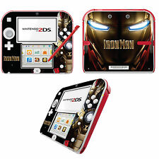 Iron Man Vinyl Skin Sticker for Nintendo 2DS