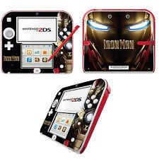 Iron Man Vinilo Skin Adhesivo Para Nintendo 2ds