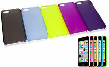 COUVERTURE DE PARE-CHOCS TRANSPARENT FLIP COMPAT. IPHONE 5 NOIR BLEU ROSE JAUNE