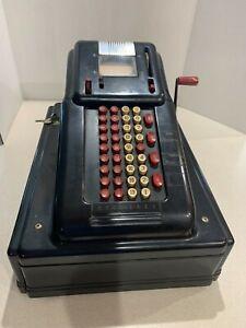 Vtg Victor McCaskey Store Cash Register original keys good condition art deco