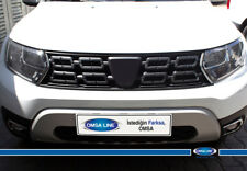 FIT Dacia Renault Duster CHROME Front Grill Side Streamers 2 Pcs S.Steel 2018>UP