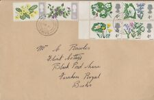 GB 1967  FIRST DAY COVER BRITISH WILD FLOWERS SG717-22