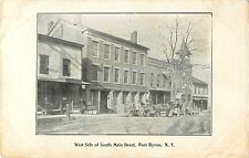 A View of the West Side of South Main Street, Port Byron NY