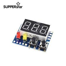 LED Display Panel Digital Voltmeter w/ Alarm Indicator 3 Way DC 0-99.9V ASS