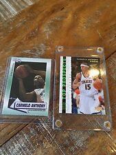 Carmelo Anthony Collector Cards Syracuse Framed
