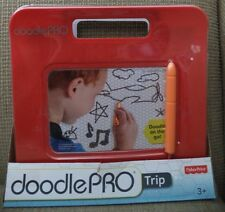 FISHER PRICE DOODLE PRO TRIP MAGNETIC DRAWING TRAVEL & PORTABLE RED CHP47 *NEW*