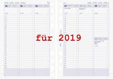 Brunnen Business Kalendarium 2019 1Woche=2Sei Spalten A5 Einlagen Kalender 2019
