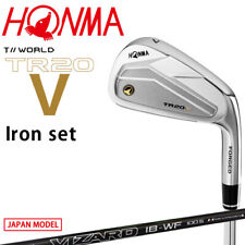 Honma Golf Japan TOUR WORLD TR20 V Iron set #5,6,7,8,9,10 VIZARD IB-WF100 S 2020