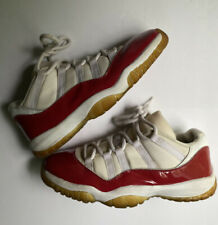 Nike Air Jordan 11 XI Low Cherry Varsity Red 2001 528895-102 Men's Size 10.5