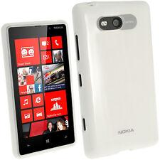 Transparent Klar Glänzend Tasche TPU  für Nokia Lumia 820 Windows Gel Hülle