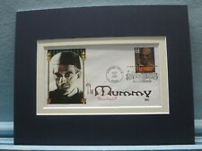 Boris Karloff in The Mummy and the First Day Cover of the Mummy stamp