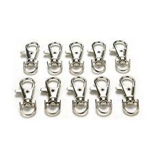 10X Lobster Clasps Swivel Trigger Clips Snap Hooks Bag Key Ring Charms*v*