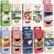 Yankee Candle Electric Home Fragrance Unit Refills X 2 Clean Cotton