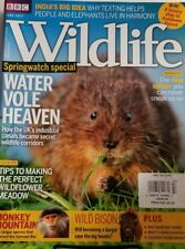 Bbc Wildlife June 2017 Springwatch Special Water Vole Heaven Free Shipping