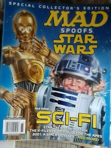 MAD MAGAZINE SPOOFS STAR WARS 2021 SPECIAL COLLECTOR'S EDITION  SCI-FI