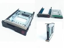 """HP 654540-001+651314-001 2.5"""" SSD TO 3.5"""" SATA converter hdd bay assy for g8/g9"""