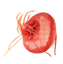 3c30e59ecb076 Large Coral Headband Aliceband Hat Fascinator Weddings Ladies Day Races  Ascot 14