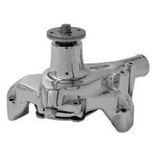 Tuff Stuff Water Pump 1449NA; Chrome Cast Iron for Chevy/GM 262-400 SBC