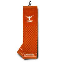 NEW Team Golf University of Texas Premium Golf Towel