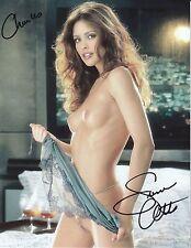 SUMMER ALTICE (3) Signed 8½X11 PHOTOs Auto  Playboy PLAYMATE Aug 2000 NAKED SDSU