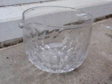 Britain Date-Lined Glass Wine Glass Clear