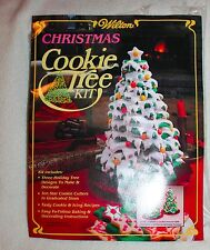 New Wilton Christmas Cookie Tree Kit Recipes Instructions 10 Cutters Patterns