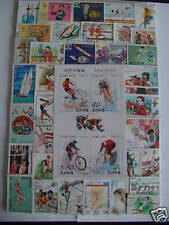 ********* TIMBRES SPORTS : 500 TIMBRES TOUS DIFFERENTS / STAMPS SPORTS ********