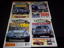 1995 CLASSIC & SPORTS CAR MAGAZINE LOT OF 8 ISSUES - NICE COVERS - M 627