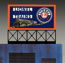 Miller's Lionel Electric Trains Animated Neon Sign  #88-0351 O/O27Miller Enginee