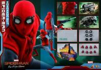 Hot Toys HT 1/6 Spider-Man Homemade Suit Ver Figure Set MMS552 12'' Male Soldier