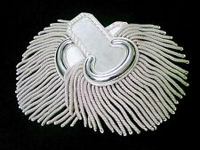 Epaulettes Silver Wire For Officers