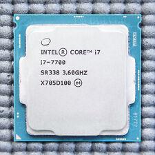 Intel Core i7 7700 Processor CPU 3.6 GHz LGA1151 *FULLY TESTED*