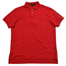 Polo Ralph Lauren Custom Fit Polo Shirt Interlock Mens Pony Logo S M L Xl Xxl