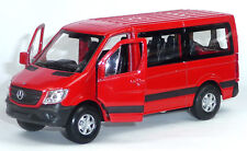 Article neuf: Mercedes Benz Sprinter modèle de collection environ 1:43/12 cm rouge article neuf WELLY