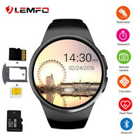 Lemfo KW18 Smart Watch Android Man Watch Smartphone Smartwatch 2019 Android iOS