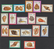 BELIZE : 1980 Shells definitives set + M/Sheet(2) SG532-48+MS549 MNH