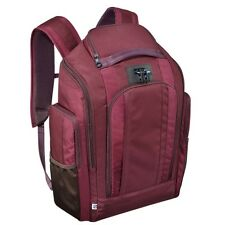 ZERO HALLIBURTON New York Red Nylon Organizer Backpack
