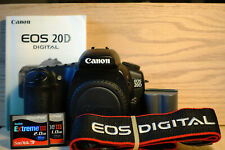 Canon EOS 20D 8.2 MP DSLR Camera (Body Only) DSLR + Battery--Good Condition