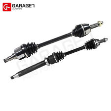 Pair CV Joint Axle Assembly Front For2000-2005 Ford Focus Sedan