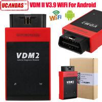 UCANDAS VDM II V3.9 WIFI VDM2 OBD2 All System Car Diagnostic Scanner For Android