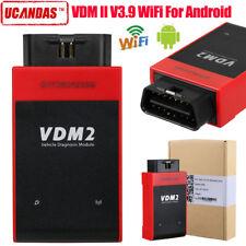 NEW UCANDAS VDM II V3.9 VDM2 WIFI Car Diagnostic Scanner For Android DE STOCK