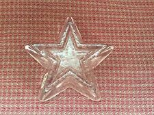 Star Paperweight By Simon Pearce - New!