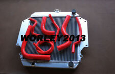 Aluminum radiator + red hose for SUZUKI SAMURAI 1.3L SJ413 manual