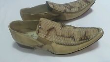 Dino Bigioni 22155 loafer snakeskin leather  US 13 Made in Italy 46